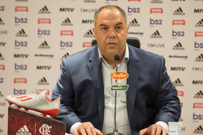 Marcos Braz sobre Gerson: ' Recebemos uma boa proposta'