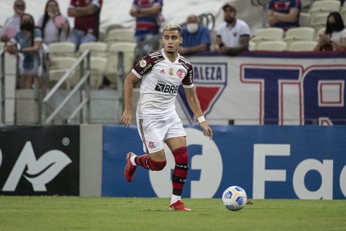 STJD julga Andreas Pereira na sexta e meia pode ficar fora por até seis jogos do Flamengo.