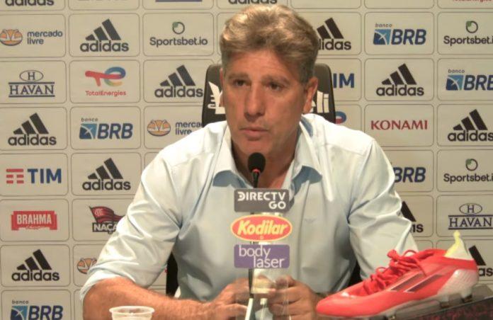 Em coletiva pós-jogo, Renato Gaúcho comemora vitória e elogia Andreas: 'É um jogador diferenciado'